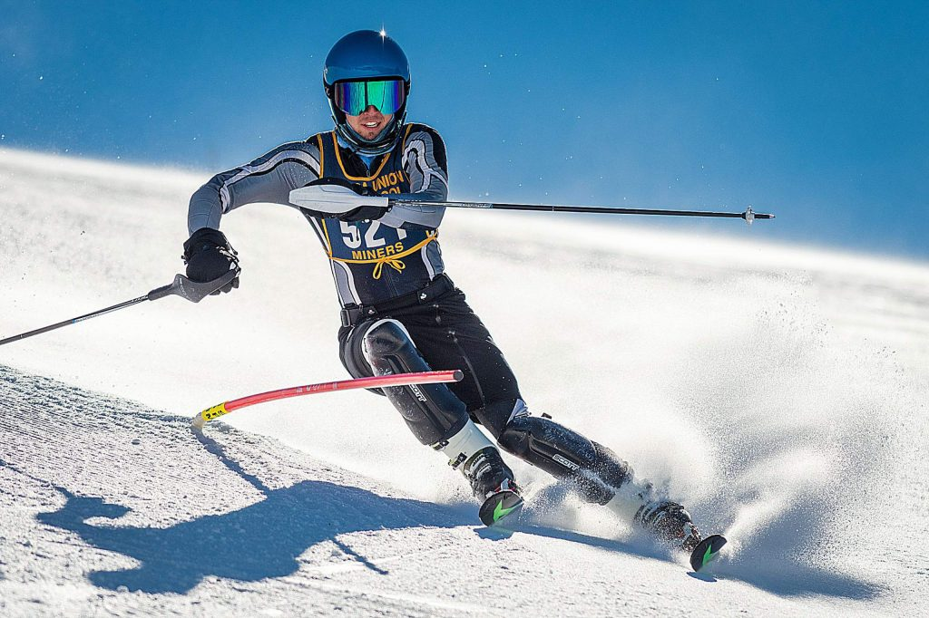 Nevada Union's Judah Good earned first place at a slalom race held at Boreal Monday.