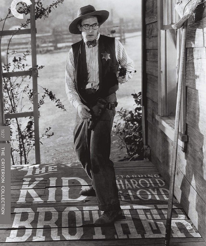 "Harold Lloyd plays a lawman's timid son in ""The Kid Brother,"" his 1927 classic comedy-romance."