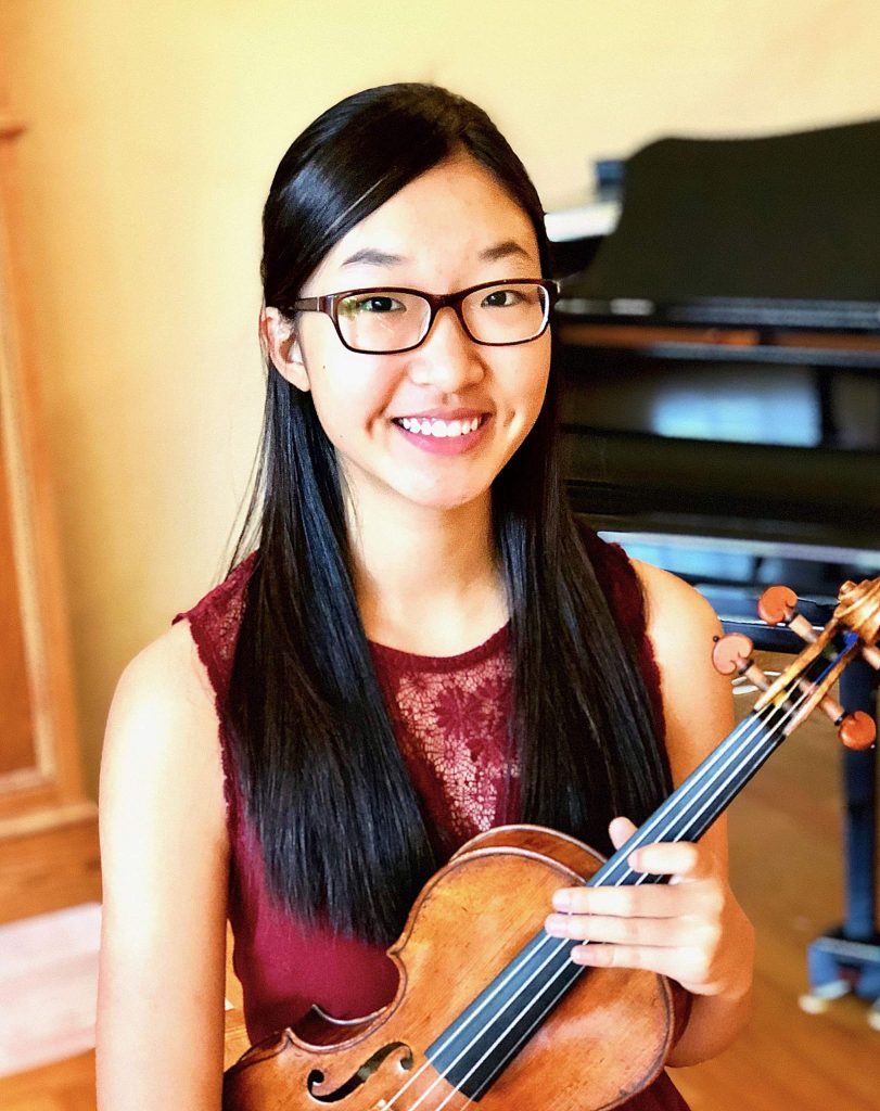 Christine Lee, a 17-year-old violin prodigy who has played since the age of five, will perform the Concerto as well as serve as co-concert master. She is looking forward to returning to Nevada County.