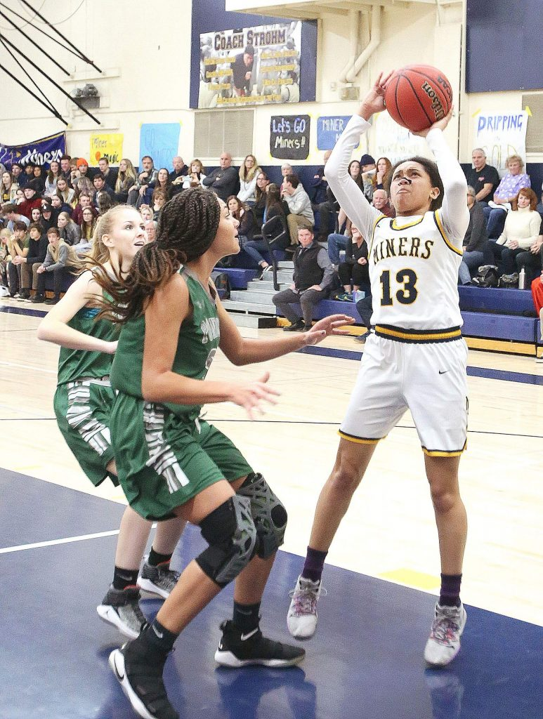 Nevada Union's Aijah King was named to the 2019-20 All-Foothill Valley League First Team.