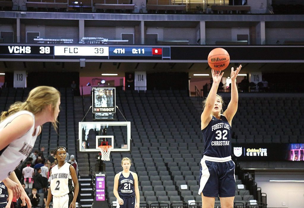 Forest Lake Christian's Jessi Dreschler earned a spot on the2019-20 All-CVCL Second Team.
