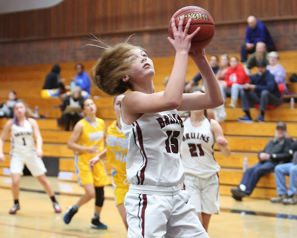 Bear River freshman Kaylee Vieira (15) was named to the 2019-20 All-PVL First Team.