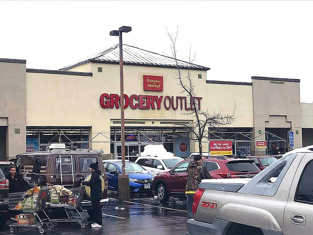 Grocery Outlet has been doing fine recently amid fears of the coronavirus, but the store is running low on toilet paper, according to a store manager.