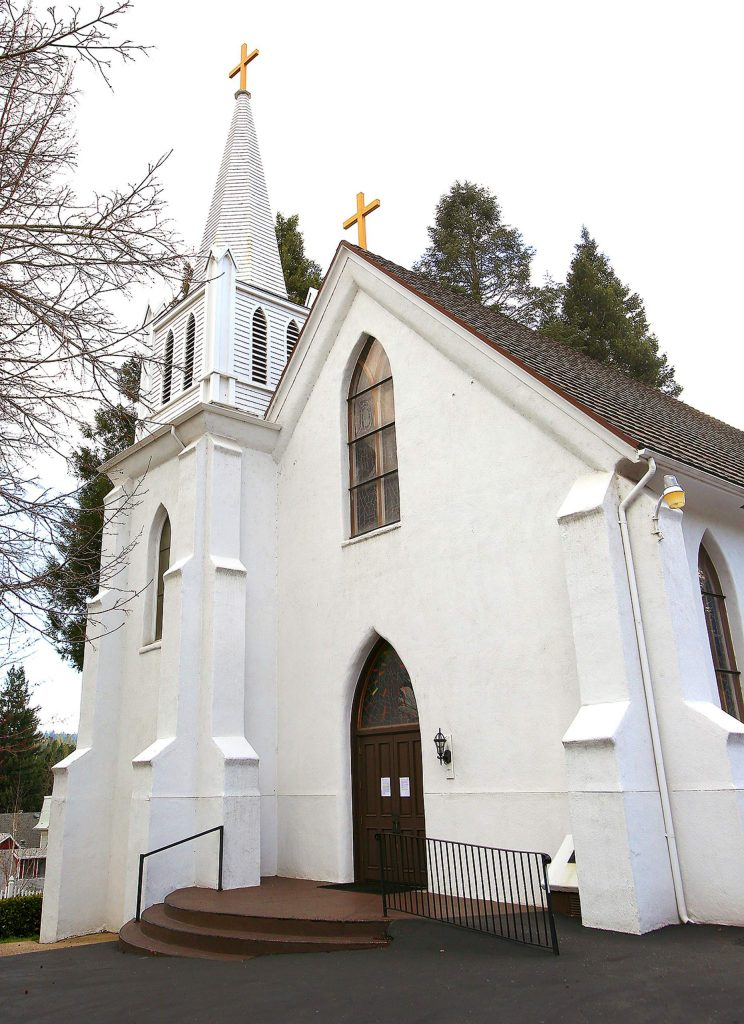 Diocese of Sacramento churches such as St. Canice in Nevada City have placed a decree on their doors explaining while Mass has been suspended, it has still noted the urgency for repentance and renewal during the Lenten season.