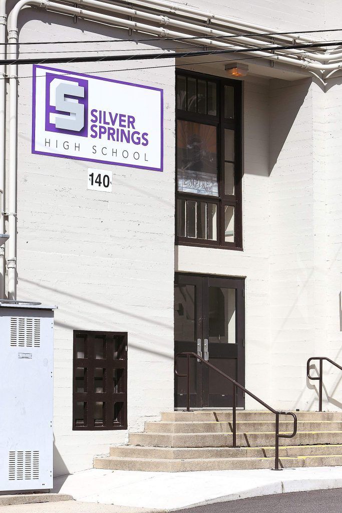 Silver Springs High School currently shares part of its campus with NU Tech. While the two have been separate institutions, steps are being taken by school administrators to change that.