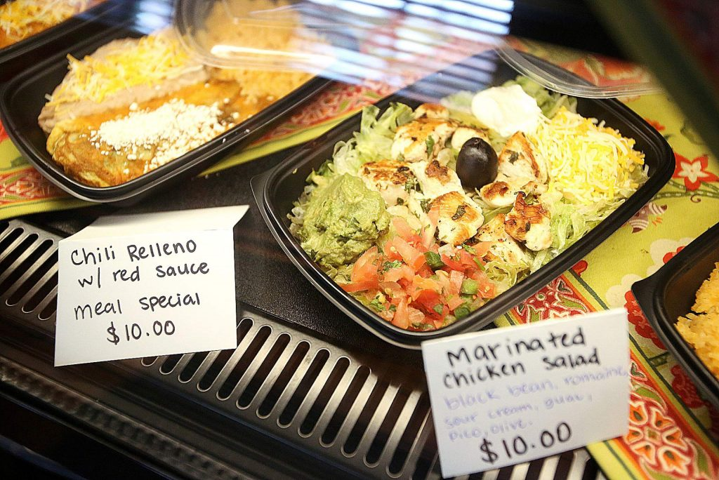 The staff at Maria's have been creating options where families can take home meals to be cooked or reheated later as well as their regular menu options.