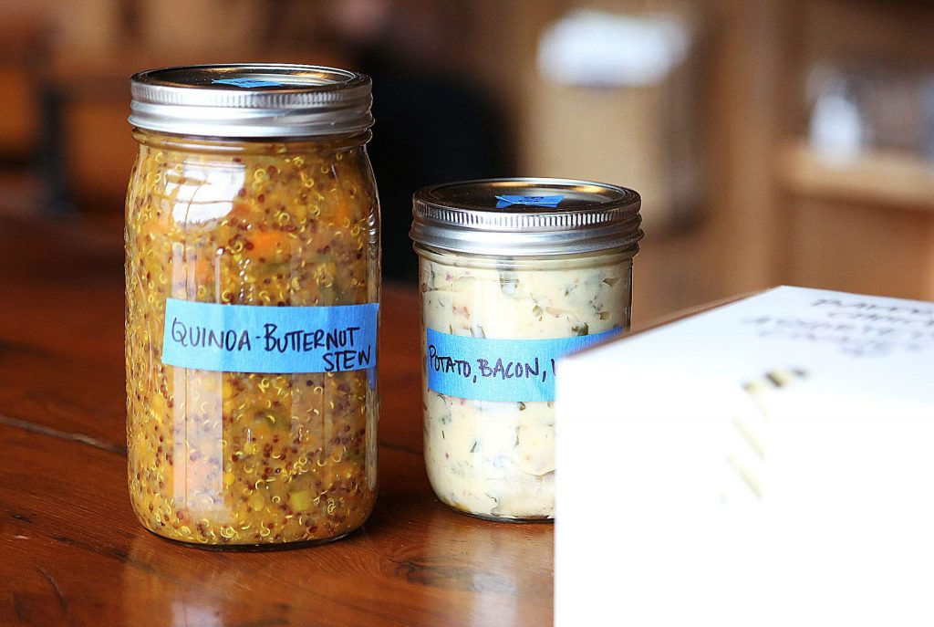 Three Forks is also offering easy meals for people to reheat later such as a quinoa-butternut stew and a potato bacon and kale soup, aside from their selection of treats and goodies.