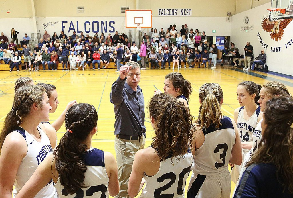 Forest Lake Christian varsity girls basketball head coach John McDaniel led his team to a first-round Nor Cal win over Credo High School out of Rohnert Park Wednesday night at home.