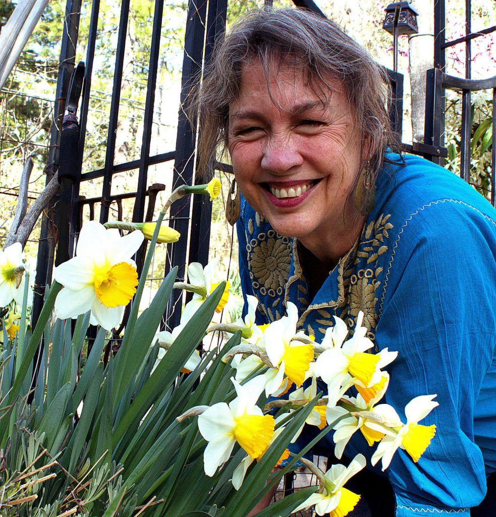 For Diane Miessler, it's not a garden without flowers.