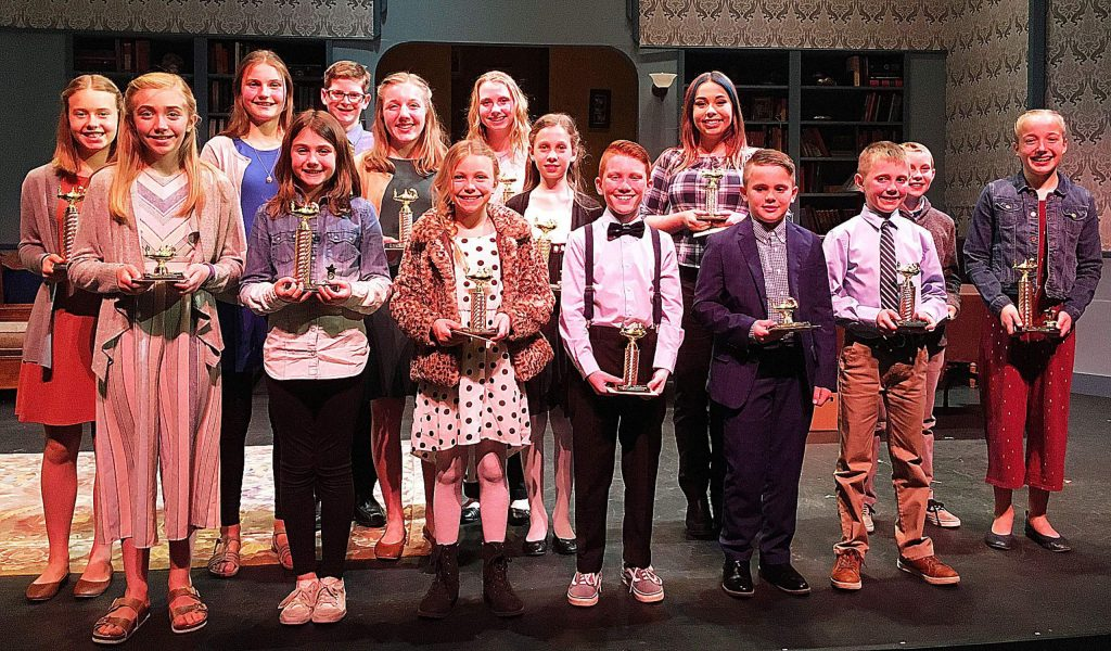 Trophies and gift certificates were presented to fourth- through eighth-grade student finalists at the 36th Annual Nevada County Superintendent of School's Speech Contest.