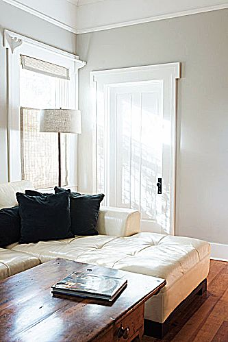 Rooms staged by Brook Ashley Designs tend to favor simplicity and neutral colors and bright whites.