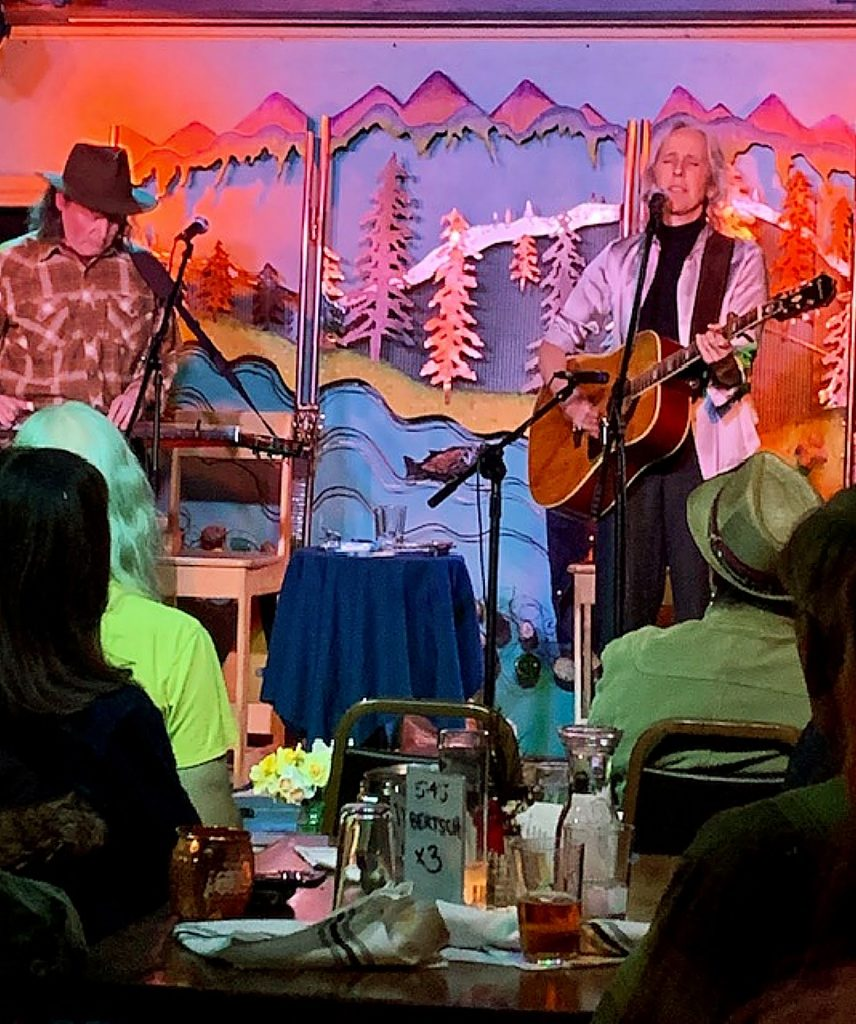 "Rita Hoskins performing to a sold out crowd at ""The WildEye Pub"" in Grass Valley! Great night!"