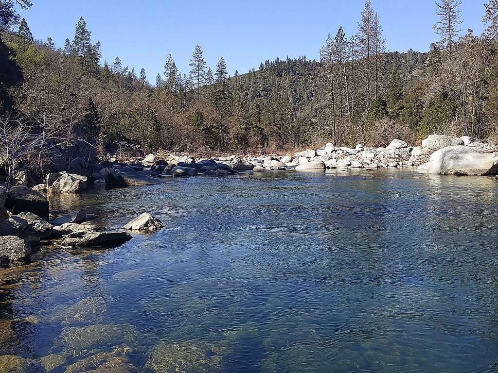 Peaceful time at the Yuba River.