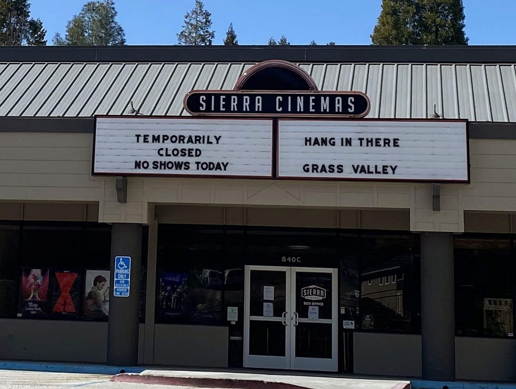 Hang in there Grass Valley!