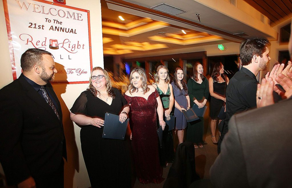 Nevada County's dispatchers were honored during this year's Red Light Ball. The 21st annual event, focused on law enforcement, was held at the Alta Sierra Country Club and allowed for officers and their loved ones to have an evening of dining and dancing.