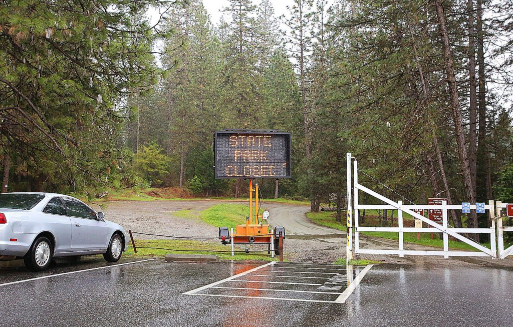 Empire Mine State Historic Park in Grass Valley is feeling the crunch of COVID-19 concerns, closing the majority of the park to the public.