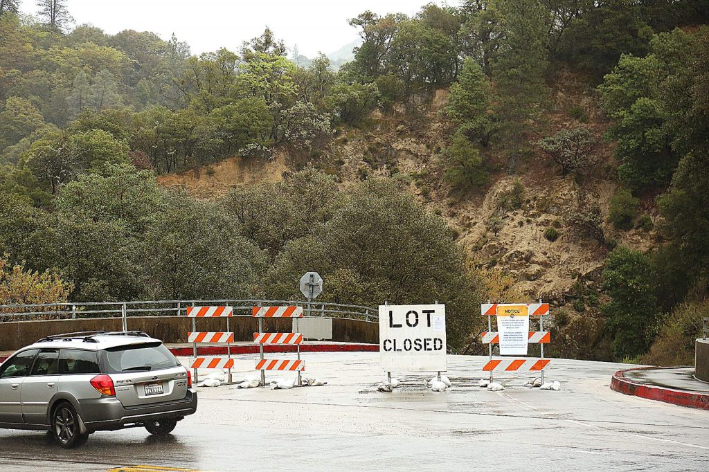 The parking lot at the Highway 49 bridge at the South Yuba River State Park, has been closed due to health and safety concerns regarding the coronavirus. The South Yuba River State Park, as well as Malakoff Diggins, and portions of Empire Mine State Historic Park, remain open.