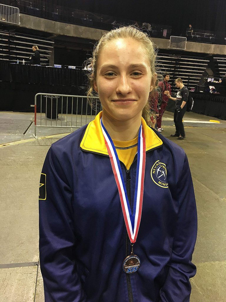 Nevada Union's Mackenzie Morgan wrapped an impressive season in which she regularly medaled at elite tourneys, placed third at the Sac-Joaquin Section Regional tourney and took sixth at the Section's Masters competition.