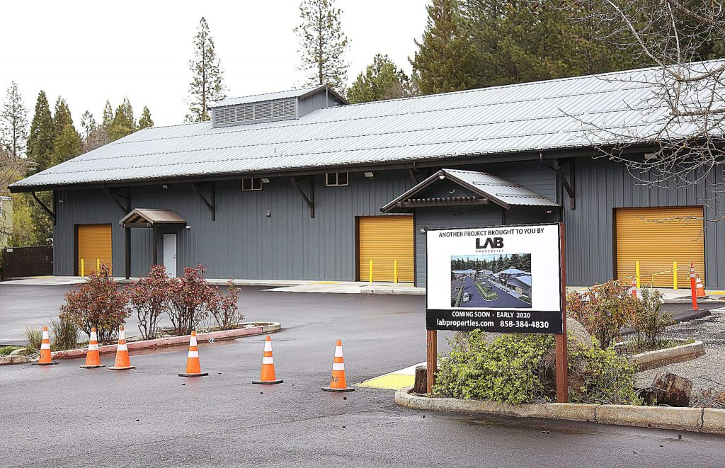 Lab Properties' Searls Avenue remodel of the former South Yuba Club gym is almost complete in Nevada City and ready for future cannabis business tenants.