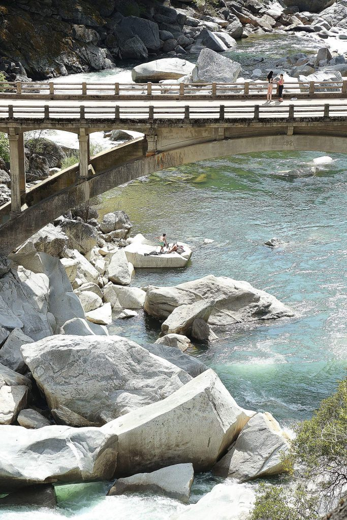The clear waters of the South Yuba River were celebrated from the shores on Wednesday, Earth Day, by visitors of the wild and scenic river.