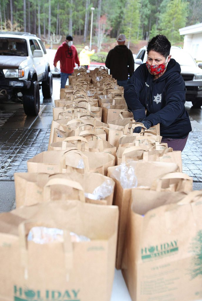 More than 35 Nevada County employees worked as disaster service workers, in addition to the volunteers and staff from the Food Bank of Nevada County. Nonprofits like the food bank and businesses as well as governments are trying to wade through uncertain economic times.