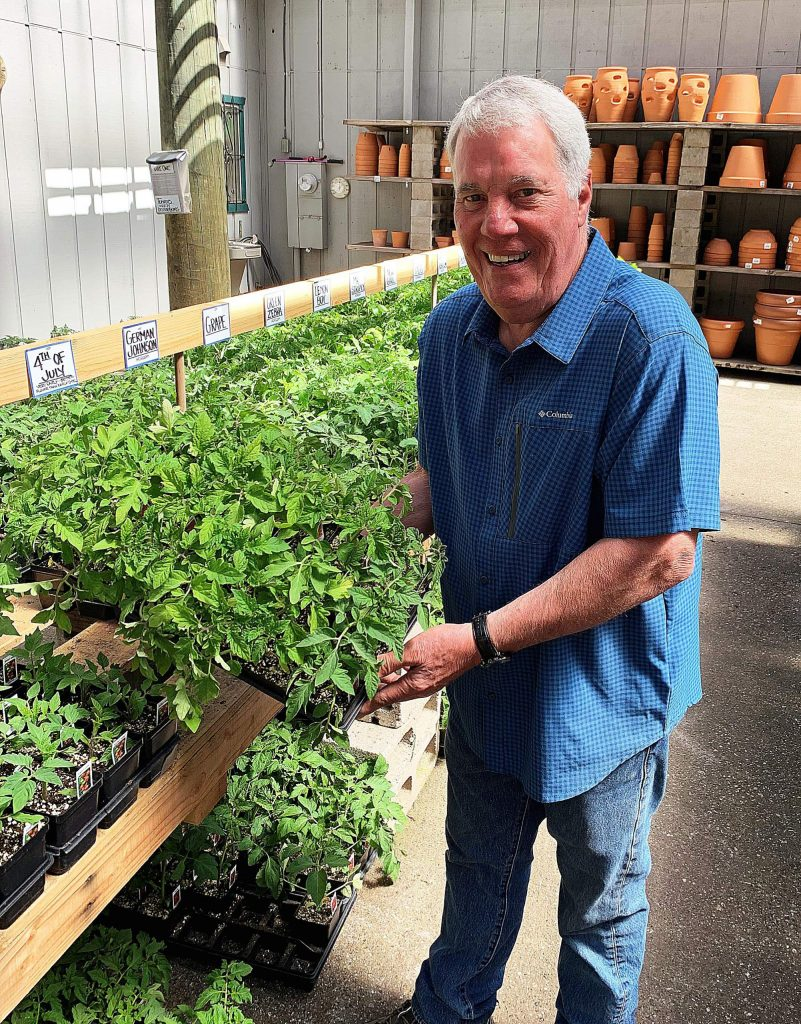 Owner Emil Baldoni says Weiss Brothers Nursery has the largest selection of locally grown vegetables in the county, all nurtured in the company's local greenhouses.