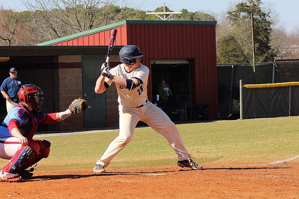 Lyon College senior catcher Andrew Schnitzius was in his second campaign with the Scots when the season was canceled.