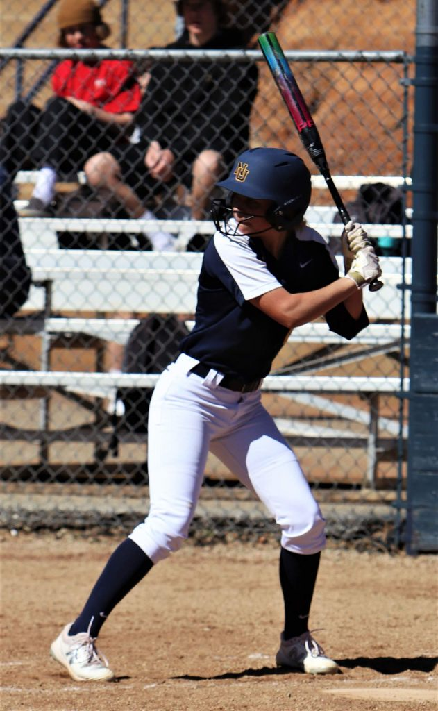 Reese Wheeler, a second baseman on the NU softball team, was an all-league selection a year ago and was batting .474 with nine hits and two doubles through seven games when the 2020 season was halted.