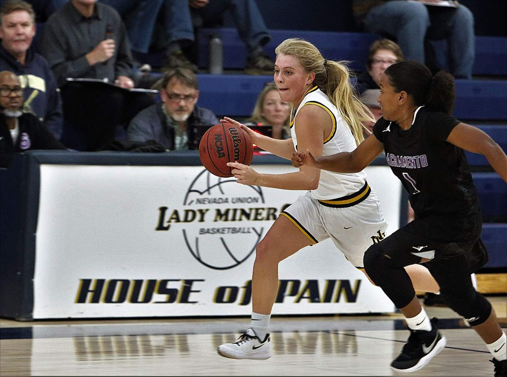 Reese Wheeler helped the girls varsity basketball team reach the playoffs and was selected for the 2020 All-FVL team.