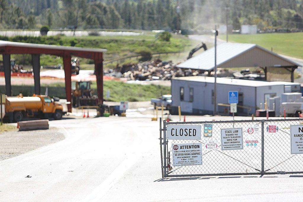 The McCourtney Road Transfer Station will shut off access to its facility at 200 users daily to limit potential exposures of COVID-19 to county employees.