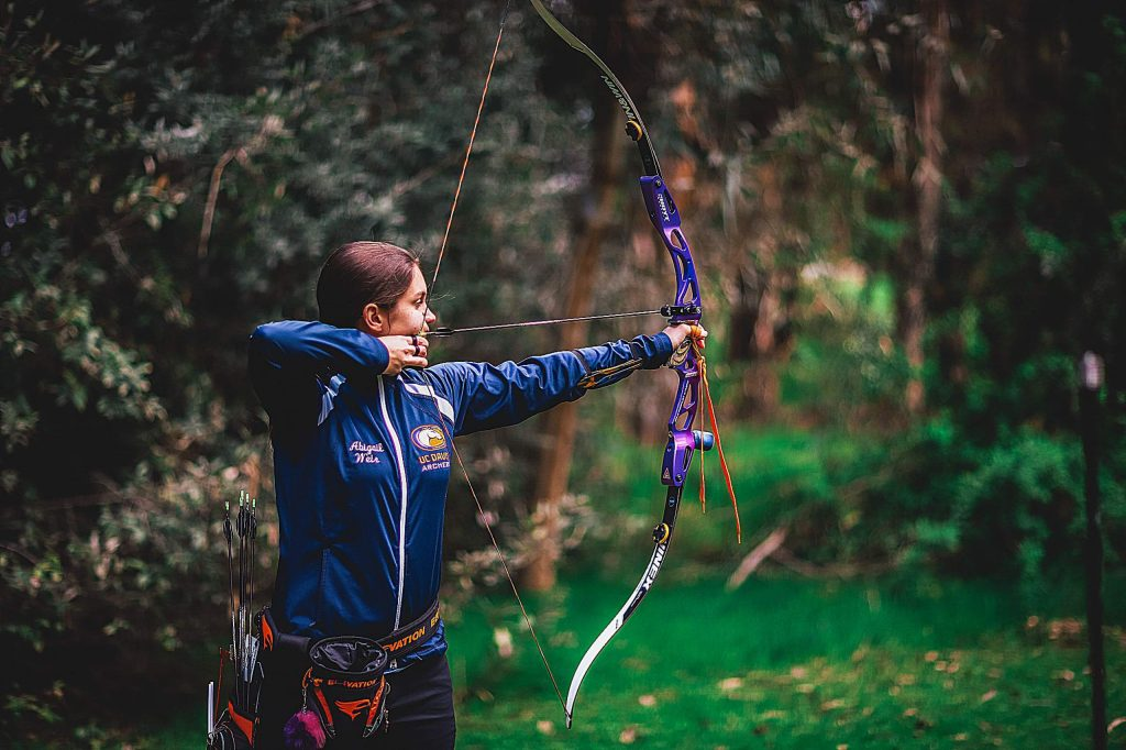 Abby Weir, a Bear River graduate currently attending University of California, Davis, was named to the All-American Academic Team by USA Archery in April.