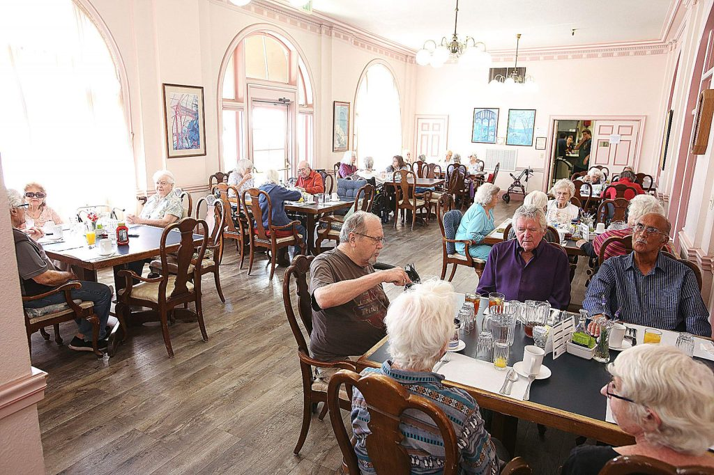 The Bret Harte Retirement Inn is just one of Grass Valley's senior care facilities that has been on lockdown since early March.