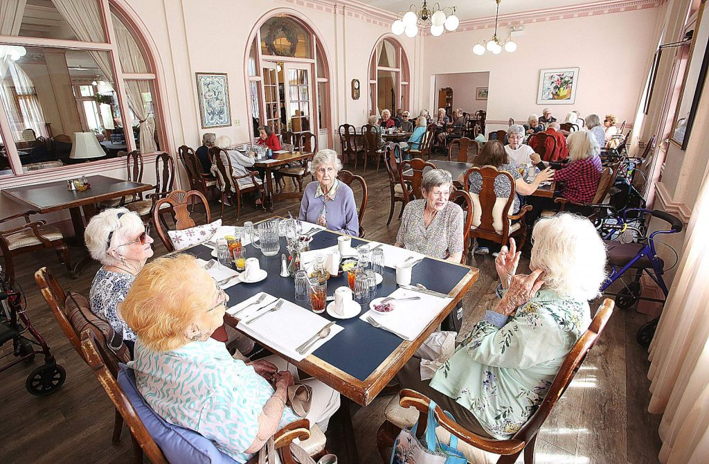 Grass Valley's Bret Harte Retirement Inn is just one senior care facility that has been on lockdown in the community since early March.