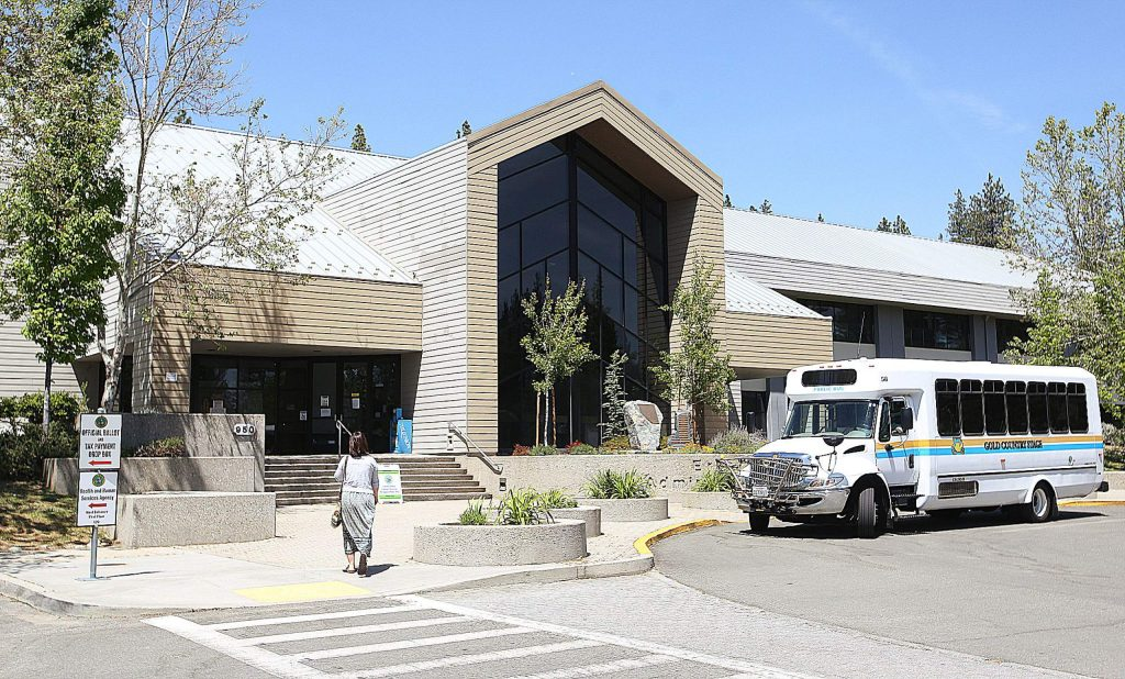 Limited services are being offered to the public from the county's government offices at the Rood Government Center in Nevada City.