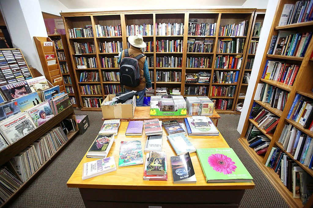 The closest thing to being able to walk through a library or a bookstore currently exists within Hospice of the Foothills' Gift and Thrift store off Zion Street in Nevada City, where the store has recently reopened following the COVID-19 shutdowns. The store is closely monitoring how many people enter the building and are requiring face masks to be worn.