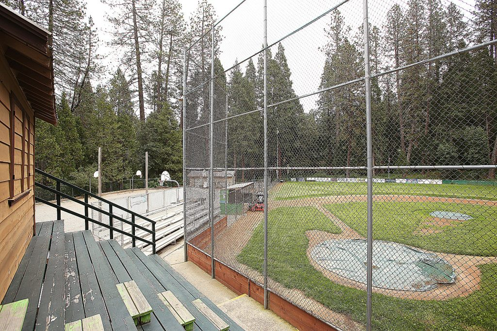 The Nevada City Little League playing field sits void of players and spectators during a time of year usually filled with the cheers of players and parents.