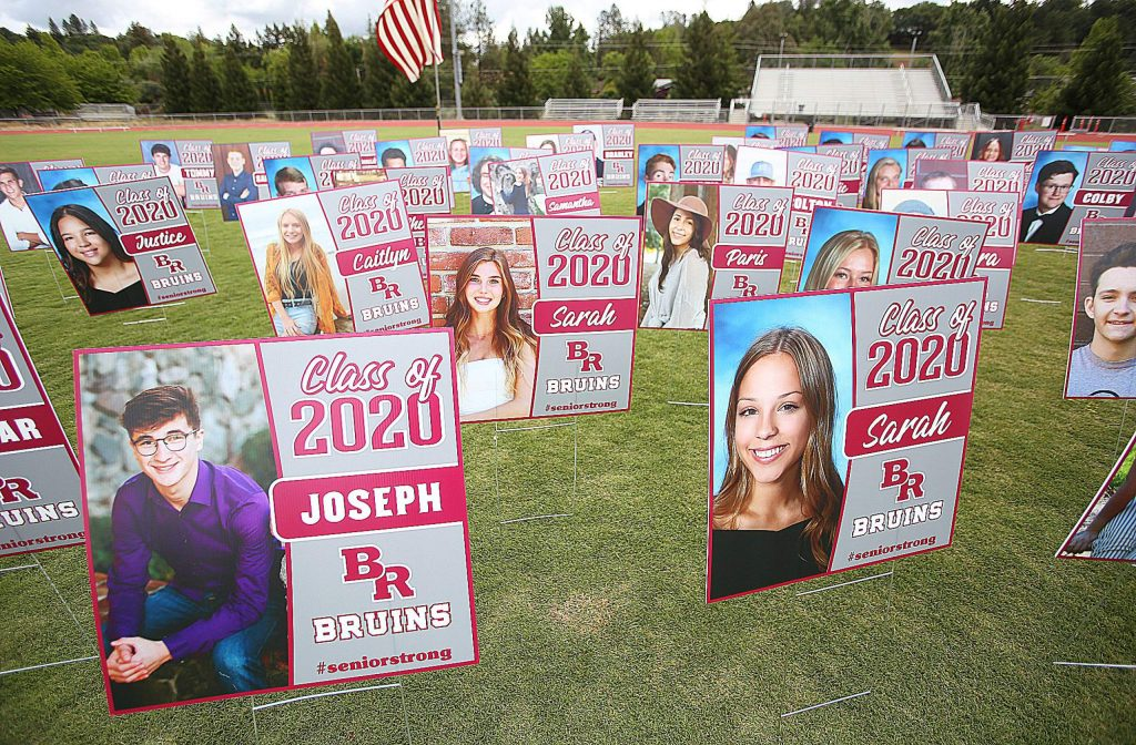 Bear River High School's graduation of the class of 2020 is one that students and administrators won't soon forget as a drive-thru commencement began Tuesday morning for graduating students and their families.