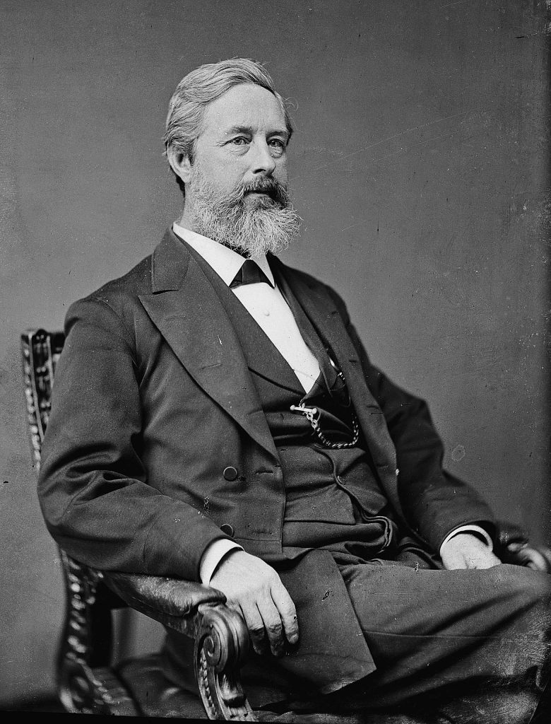 In 1878, former Nevada City attorney Aaron Augustus Sargent, (1827 to 1887), introduced in the U. S. Senate the exact words ratified as the 19th Amendment in 1920.