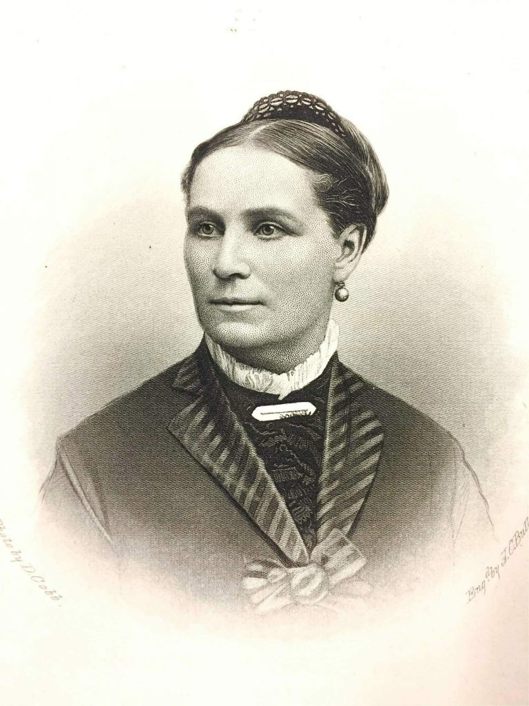 Ellen Clark Sargent, (1826 to 1911), was a prominent suffragette, wife of Aaron, and friend of Susan B. Anthony.