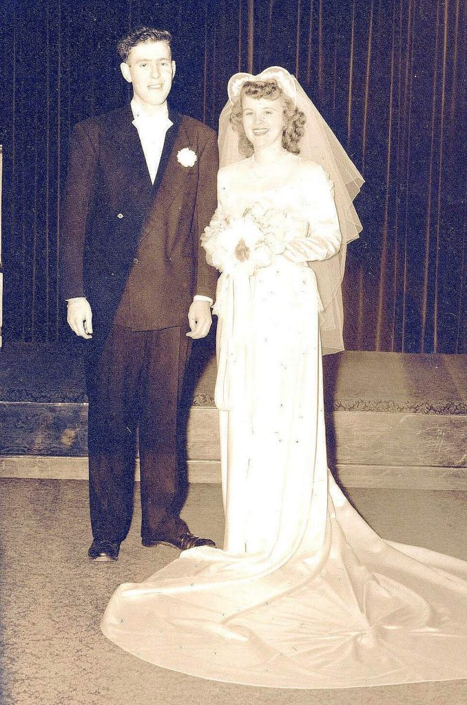 Wally and Mary Krill celebrate 72 years of wedded bliss this month. They met on a blind date in 1947, married a year later, and honeymooned at the National Hotel.