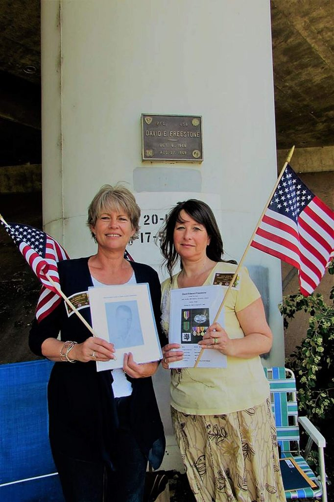 From left, Susan Arnold and Haidee Reyes. Both are local realtors. Reyes is one of the tour organizers.