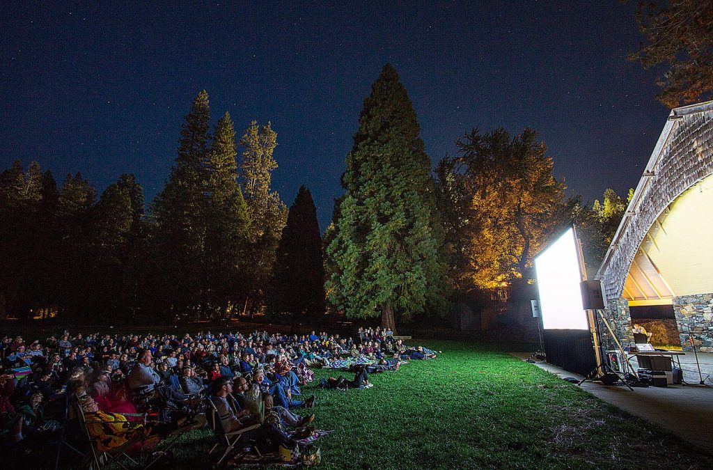 A photo of the Nevada City Film Festival from 2017. This year, the festival will be mostly online, and host many different programs to try connecting festival goers and filmmakers.