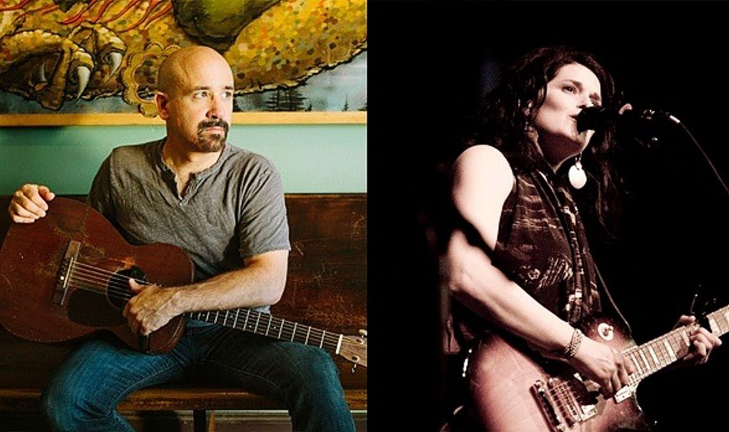 Musicians Tony Furtado and Stephanie Schneiderman have begun hosting concerts from their living room in Portland, Oregon.