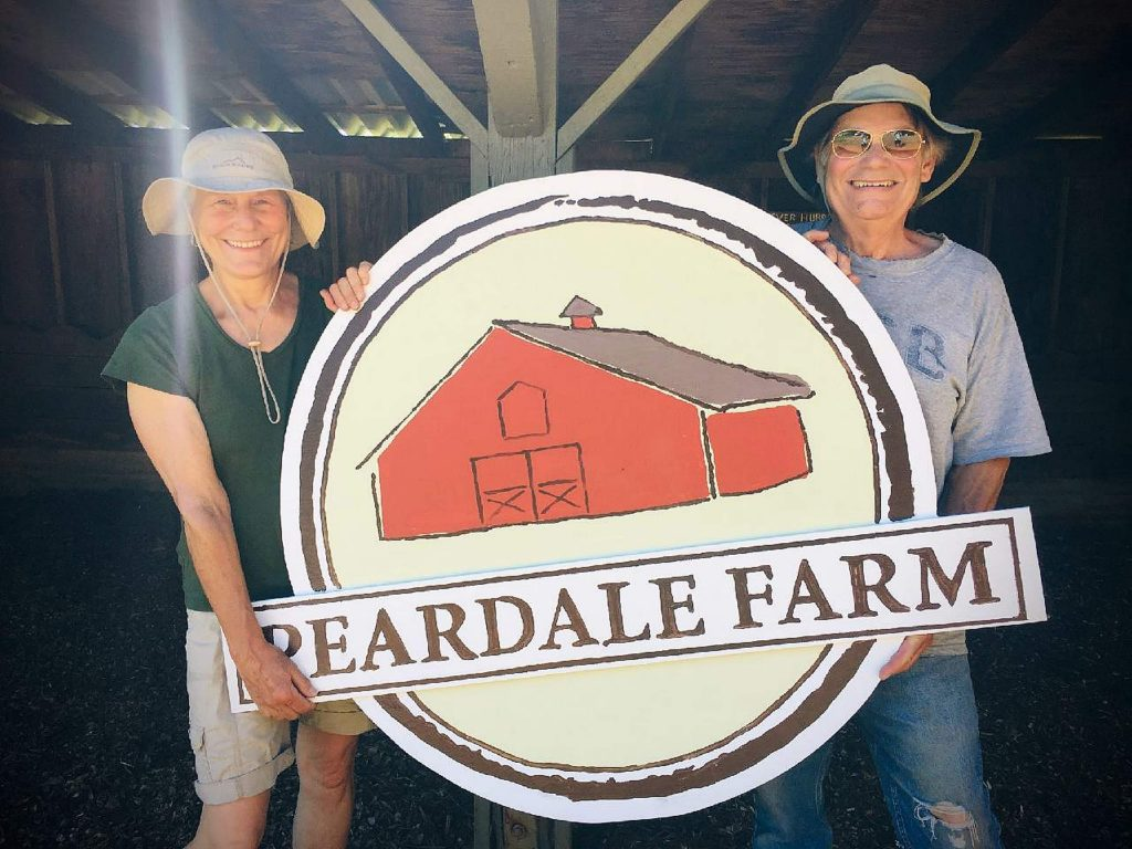 We bought a farm! And we are using our sheltering time to mow, clean, and grow plant starts for sale. Online sales and farm stand pickup beginning May 1. Can't miss our big red barn on Colfax Highway. Great to be part of the Nevada County agriculture community. (Pictured - Rob & Cathy Chase.)