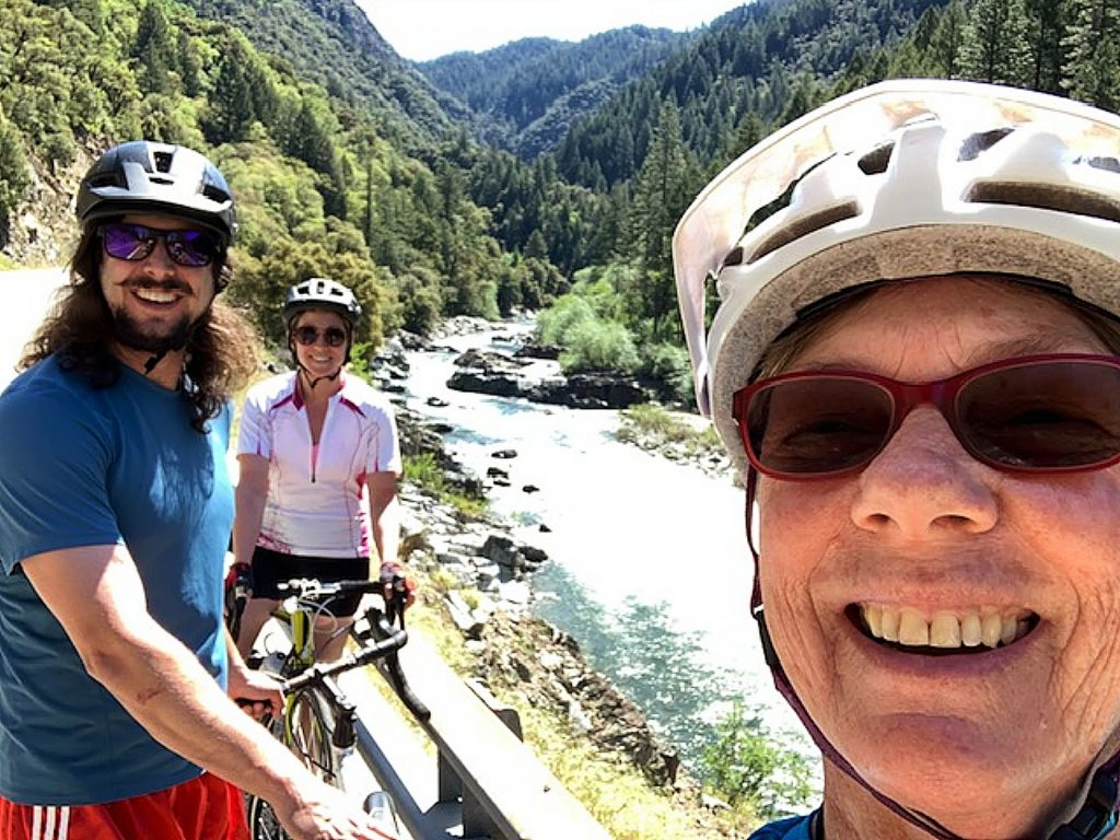 Beautiful bike ride on Highway 49 along the North Fork of the Yuba!