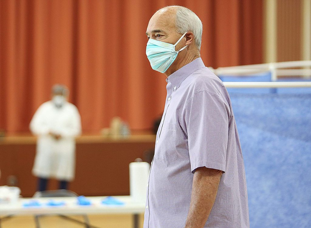 "Nevada County Supervisor Dan Miller was tested Wednesday morning for COVID-19. Miller showed no symptoms and described himself as a healthy 72 year old. ""It was a little uncomfortable,"" Miller said of the swab test process. ""The object they did stick up my nose hit a dead end. I did tear up a little in my left eye."""