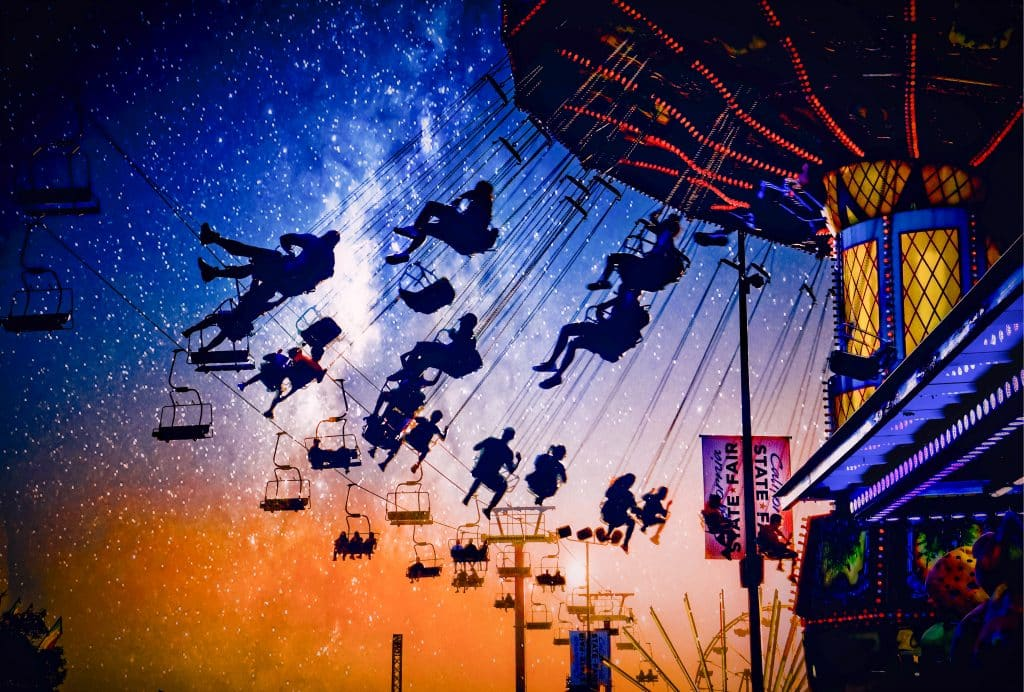 Starry Night at the Fair