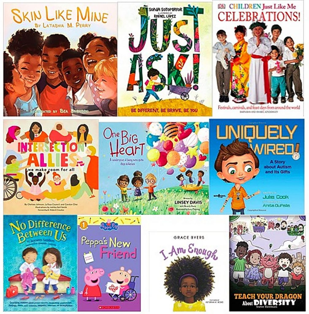 While teaching children to see similarities is important, the goal is not to eliminate our differences. Studies show that ignoring differences actually makes discrimination worse. When similarities and differences are acknowledged at the same time, kids will find they can learn from people who aren't like them. Reading diverse books with children is one way to start meaningful discussion.