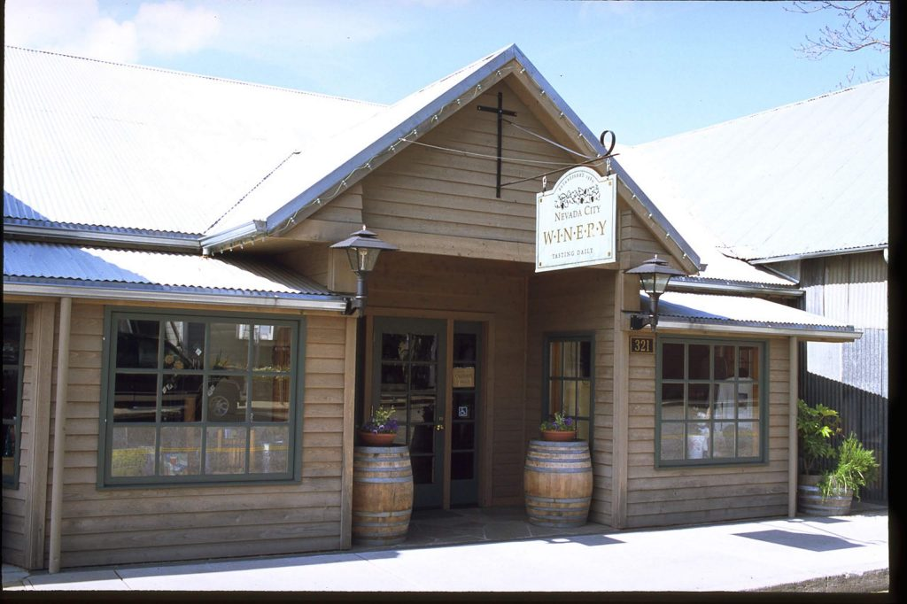 Nevada City Winery will re-open mid July with a fresh new look.