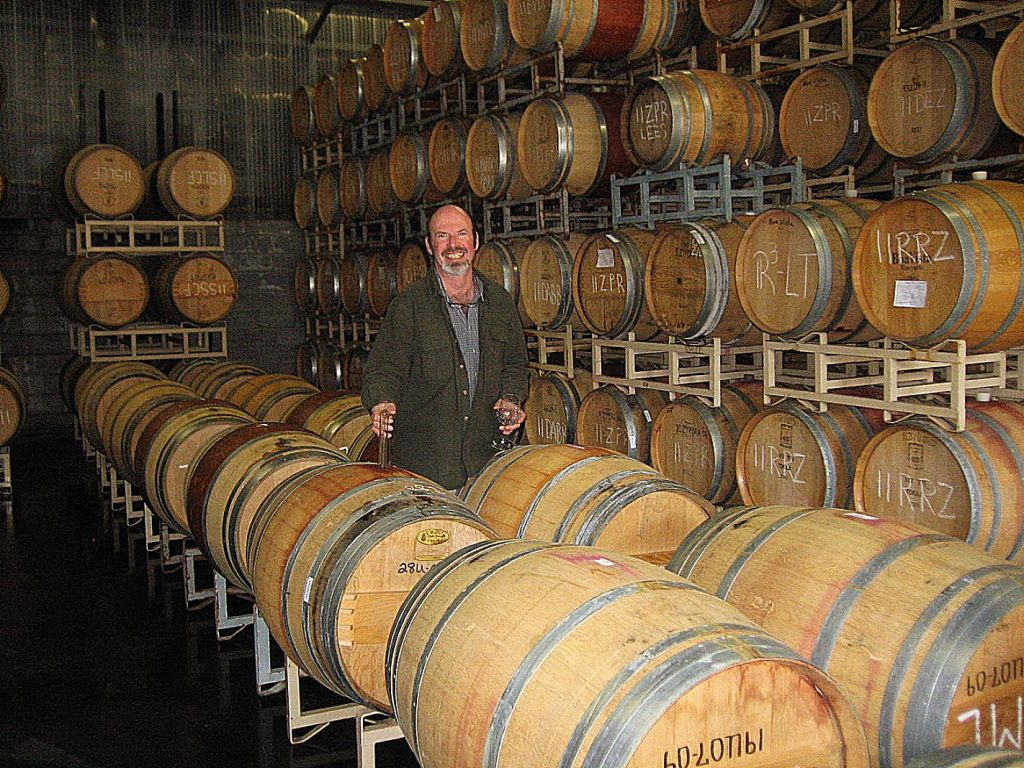 Nevada City winemaker Mark Foster will preside over this year's 40th anniversary harvest.